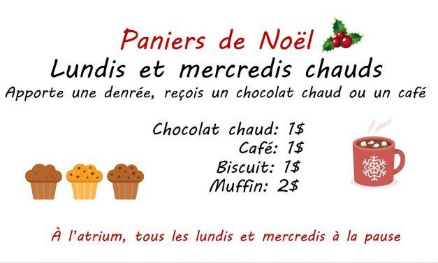Les paniers de Noël à Thimens sont de retour!